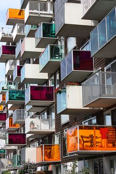 Wozoco Apartments by MVRDV - Amsterdam - The Netherlands