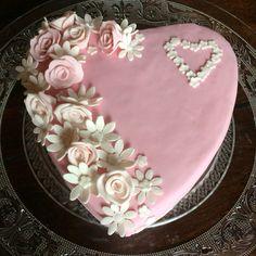 Beautiful heartcake