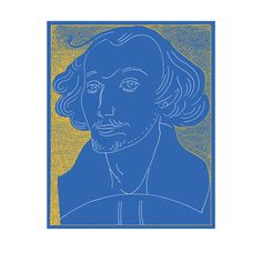 bill shakespeare. by milton glaser.