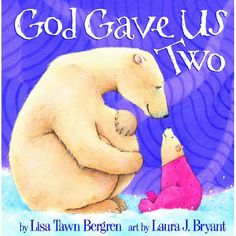 God Gave Us Two, a good book for children who are getting a new baby brother or sister or both! 2nd Baby, Second Baby, Baby Kids, Baby Boy, Baby Birth, Second Child, Big Sister Kit, Big Sister Books, Big Sisters