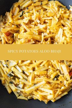 A classic Bangladeshi Aloo Bhaji, spiced potatoes, cut nice and thin and cooked in delicious spices. Perfect with rice or roti's. This is a super easy Aloo Bhaji recipe even beginners could do. #AlooBhaji #SpicedPotatoes #BengaliFood #Vegetarian Easy Delicious Recipes, Vegetarian Recipes Easy, Curry Recipes, Potato Recipes, Lunch Recipes, Easy Dinner Recipes, Delicious Food, Easy Meals, Cooking Recipes