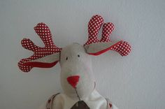 This is a pdf file not a finished item This PDF Sewing Pattern gives you the possibility to create with your hands, the classic and evergreen Rudolph the reindeer. With this tutorial you will create the reindeer, pullover, pants and the skate. Rudolph is tall 50 cm about. Rudolph