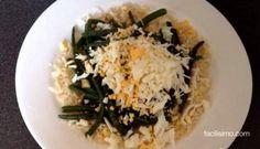 Recetas para el tupper: judías verdes con arroz