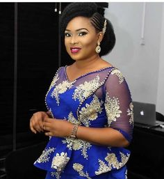 There are several ways to enable oneself look fabulous with an Ankara fabric, Even if you are contemplating about what to make and slay with an aso ebi style. Nigerian Yoruba dress styles for outings arrive in a good many patterns and designs. The Ankara Latest African Fashion Dresses, African Dresses For Women, African Print Dresses, African Print Fashion, African Attire, Natural Hair Wedding, African Lace Styles, Lace Dress Styles, African Traditional Dresses
