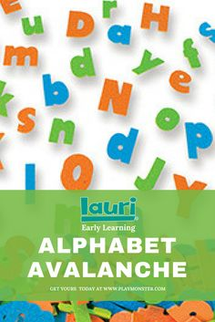 Use Lauri Alphabet Avalanche at home or in the classroom to help your kids spell their name, build sentences, and create paragraphs. Kids Birthday Crafts, Autumn Activities For Kids, Printable Activities For Kids, Letter Activities, Crafts For Kids To Make, Play Based Learning, Learning The Alphabet, Early Learning, Fun Learning
