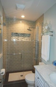 how much glam can you pack into a 35 square foot bathroom shower doors glasses and the glass - Ideas For Remodeling A Small Bathroom