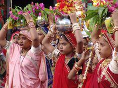 teej festivals of rajasthan - Google Search