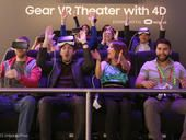 The whole CNET team took a ride on a virtual reality roller coaster here at Mobile World Congress. It was so realistic we actually felt a bit sick.