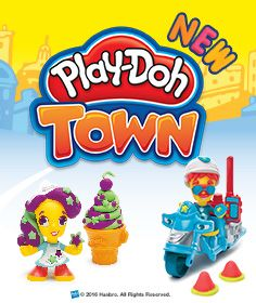 Become the newest resident in Play-Doh Town and create endless Play-Doh fun!  http://www.thetoyshop.com/brands/play-doh/play-doh-town