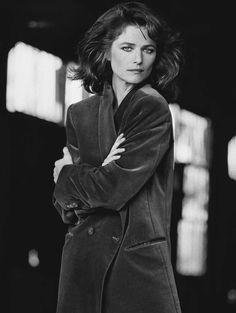Charlotte Rampling, 1982-Peter Lindbergh