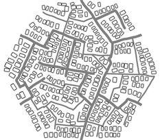 Hex city tile