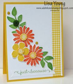 Just Because by genesis - Cards and Paper Crafts at Splitcoaststampers
