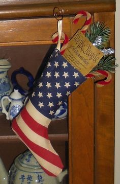 Patriotic stocking