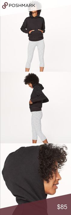 Lululemon Warm Down Hoodie NWT. It's the perfect cozy hoodie for pre and post workout. There is mesh fabric at the bottom hem to let off steam and keep you warm. Made with cotton terry fabric that is breathable and super soft. It's the perfect trendy + cozy sweatshirt! lululemon athletica Tops Sweatshirts & Hoodies
