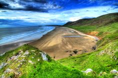 Wales-Rhossili Beach#2 by Francesco Cetta on 500px