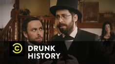 Allan Pinkerton and Kate Warne shepherd President-elect Abraham Lincoln through hostile territory. The Comedy Central app has full episodes of your favorite . Drunk History, Charlie Day, Paget Brewster, History Channel, Comedy Central, Abraham Lincoln, American History, Actors & Actresses, Famous People