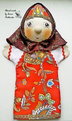 бабушка сказительница. перчаточная кукла