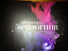 Sephora Sensorium in NY, a multi-sensorial exhibit and lesson in the history of fragrance. It was amazing!