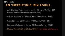 You have until 12:00pm CST 12/18 to get the bonuses