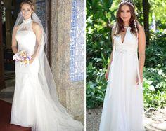 Resultado de imagem para vestido noiva novela