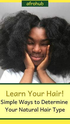 Your natural hair regimen depends greatly on your hair type. It can be difficult to decide what type your hair is. This article explains the difference between 3A, 3B, 3C, 4A, 4B, and 4C hair. #naturalhairchart #naturalhairtypes #naturalhairtexture