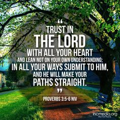 """ ""Trust in the Lord with all your heart. Biblical Quotes, Prayer Quotes, Faith Quotes, Bible Quotes, Bible Verses, Qoutes, Proverbs 3 5 6, Churches Of Christ, Life Words"
