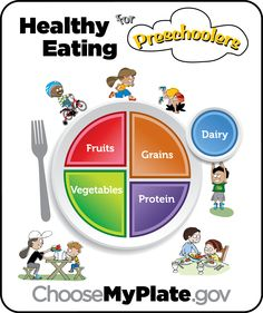Get your child on the path to #healthy eating. Click here for a sample food plan and tips for feeding your preschooler. #MyPlate