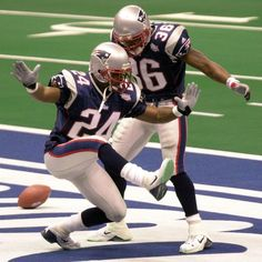 #24 Ty Law & #36 Lawyer Milloy