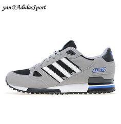 brand new ba690 542bf Hombres Zapatillas Running Adidas Originals ZX 750 Carbono Gris claro Blanco  Outlet Venta