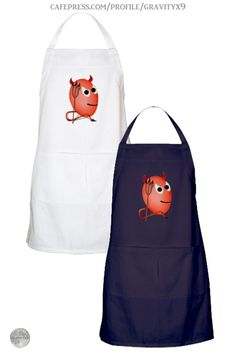 * Deviled Egg Apron by #Gravityx9 at Cafepress * Made of 100% heavy cotton twill * Up to four colors to choose from * This cute  little devil design is available on shirts, mugs, stationery and more. * custom fancy apron gift ideas * cooking accessories * red egg apron * egg apron * kitchen accessories * #ApronAddiction #partyapron #apron #customapron #giftforchef #giftforcook #kitchen  #cooking  #kitchenstaff #restaurantsupplies  #deviledeggs #eggs #eggsapron  #playingwithfood 0720
