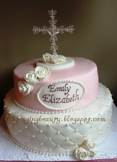 first communion cake ideas - Google Search