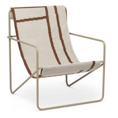 Fauteuil outdoor Desert Terracotta Ferm Living Design Adulte