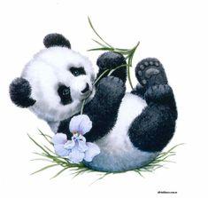 Panda Sketch, Panda Drawing, Image Panda, Panda Bear Tattoos, Baby Panda Bears, Baby Pandas, Panda Painting, Islamic Cartoon, Cute Panda Wallpaper