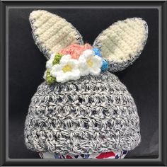 Newborn Bunny Hat by Alana Judah