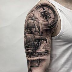 upper arm tattoo men half sleeves sketch \ sketch tattoo men half sleeves _ tattoo sketch for men ideas half sleeves _ upper arm tattoo men half sleeves sketch _ tattoo sketch for men drawings half sleeves Half Sleeve Tattoo Upper Arm, Half Sleeve Tattoos For Guys, Upper Arm Tattoos, Arm Sleeve Tattoos, Pirate Tattoo Sleeve, Ship Tattoo Sleeves, Nautical Tattoo Sleeve, Nautical Tattoos, Virgo Tattoo Designs