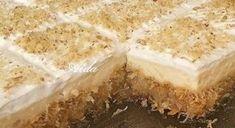 Domaći Kuhar - Deserti i Slana jela: Kremasti kadaif - ekmek kadaif Vegan Sweets, Sweets Recipes, Vegan Desserts, Cake Recipes, Cooking Recipes, Greek Sweets, Greek Desserts, Greek Recipes, Greek Cake