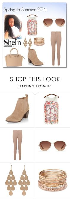 """Summer Sweetie"" by mgtswag-101 ❤ liked on Polyvore featuring New Look, Miss Selfridge, Stella & Dot, Irene Neuwirth, Red Camel and Michael Kors"