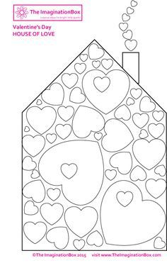 Valentine's Day kids art & craft activities, heart inspired printables, free downloads, colouring sheets, printing and painting techniques, card templates and more