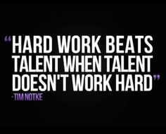 Hard Work!!!