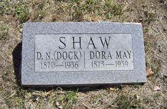 Dock Newton Shaw (1866 - 1932) - Find A Grave Photos