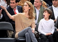 Celine Dion and son Rene - Rene Angelil - Zimbio