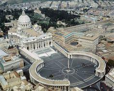 St. Peter's Basilica and St.Peter's Square  »Michelangelo Buonarroti (Italian, 1475–1564), Carlo Moderno (Italian, 1556–1629), Gian Lorenzo Bernini (Italian, 1598–1680), et al.