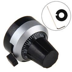 3590S 6MM Knob Precision Precise Potentiometer Dial Button Lock Hat New -Y103 #Affiliate
