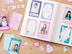 ポケットカード(KCC-04):ribbon【forchekiシリーズきむPocketcard】チェキと同じサイズのかわいいカード☆アルバムにメッセージを添えて簡単にデコレーション♪