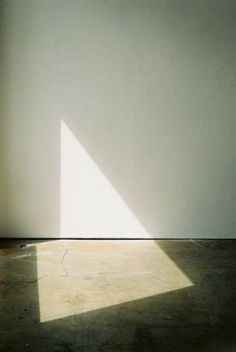 lack of color - triangle shadow