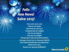 Você faz a Diferença: FELIZ ANO NOVO! SALVE 2015!