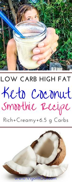 Your perfect new low carb high fat keto smoothie recipes for breakfast! At only g carbs you can learn the right way to included protein shakes into your Ketogenic Diet. Simple dump and blend keto smoothie recipe with almond milk, coconut milk, cinnamon Dairy Free Protein Shakes, Healthy Protein Shakes, Keto Shakes, Protein Smoothies, Easy Smoothies, Smoothie Diet, Protein Meal Replacement, Meal Replacement Smoothies, Keto Smoothie Recipes