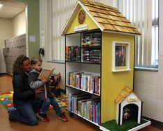 little free library for inside - Google Search