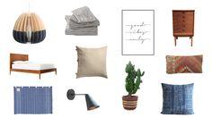 My Ultimate Dream Bedroom Mood Board: California Boho