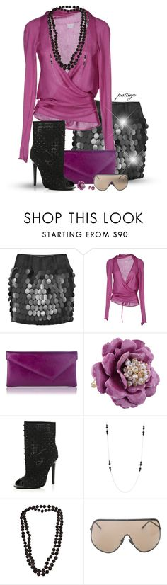 """""""My Purple Girl"""" by rockreborn ❤ liked on Polyvore featuring STELLA McCARTNEY, alyki, L.K.Bennett, Les Néréides, River Island, Stephen Webster, Dosa and Rick Owens"""